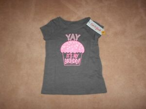 b2d0868e51b5f Image is loading NEW-TODDLER-GIRLS-BIRTHDAY-T-SHIRT-SIZE-5T-