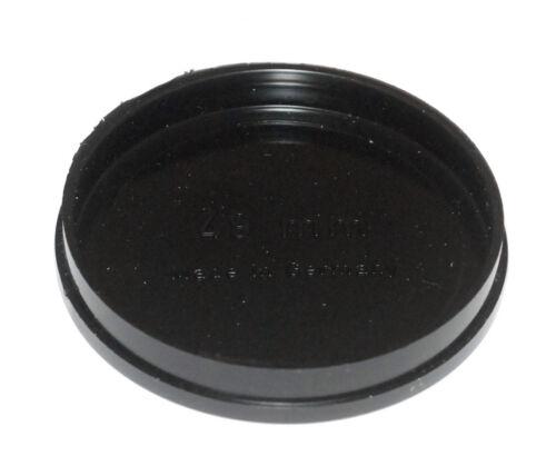 Universal aufsteckdeckel para 49mm diámetro//slip-on lens cap nuevo//en el embalaje original