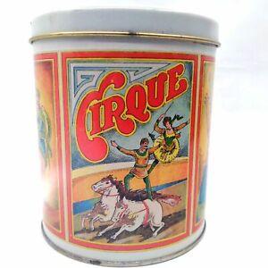 Ballonoff Cirque Circus Collectible Tin Storage Container