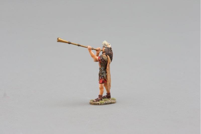 THOMAS GUNN ROM038B - Roman Tubicen player Painted Metal