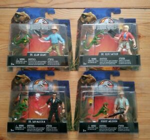 Jurassic Park Legacy Collection - Lot de 4 figurines - Monde - Neuf / Emballage