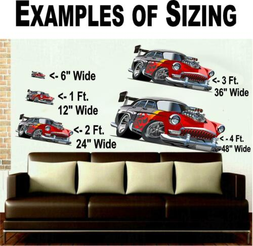 Ford Mustang Muscle Car Wall Art Custom Decal Graphic-Man Cave Decor Nascar#1134