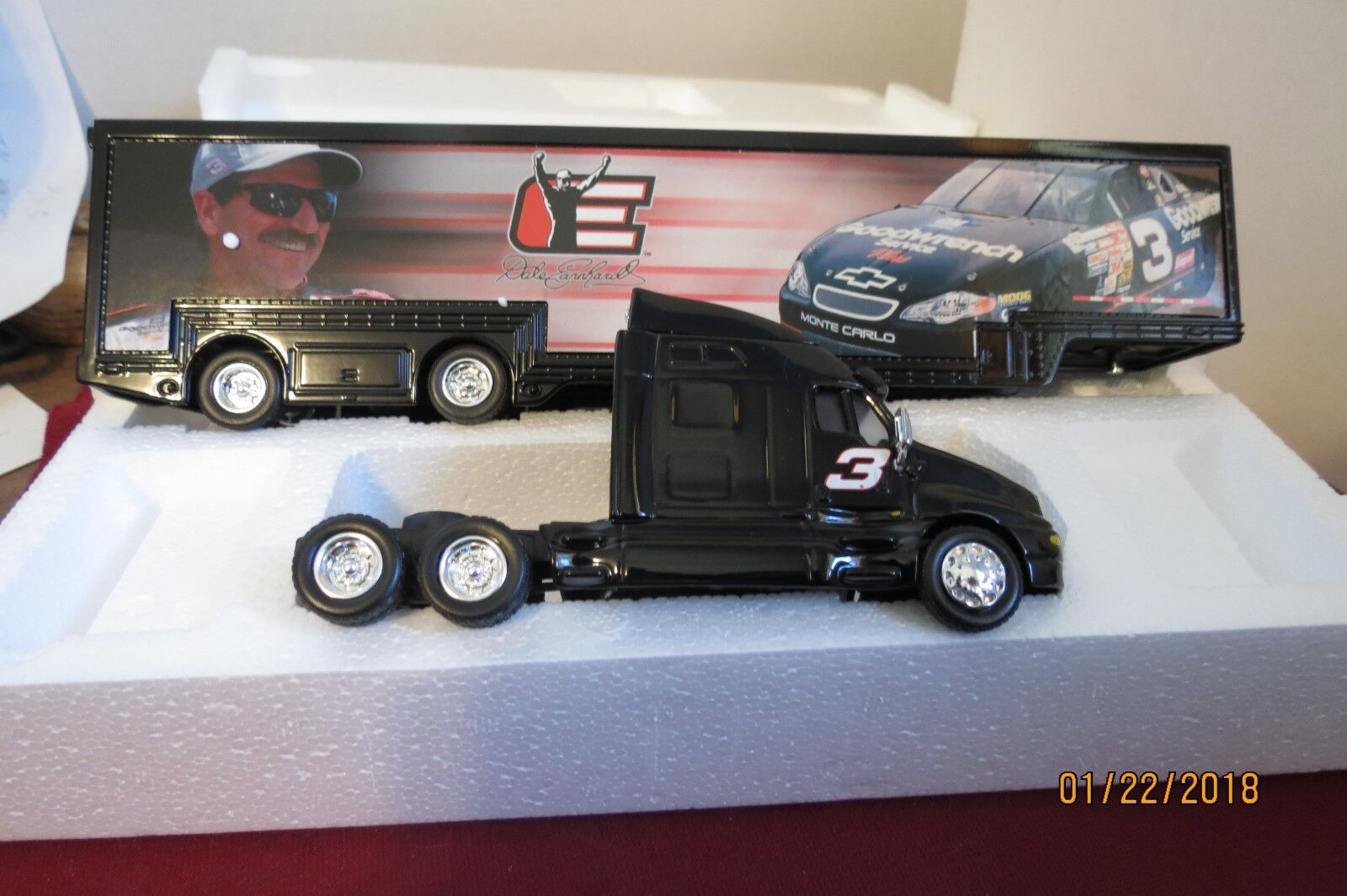 Dale Earnhardt Legacy Hauler Limited Edition P N 108061