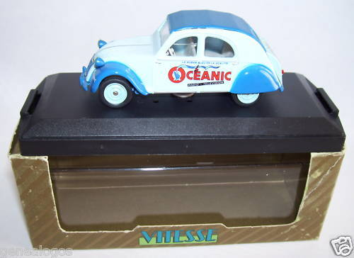 OLD VITESSE LIMITED EDITION CITROEN 2CV OCEANIC 1955 1 43 in box