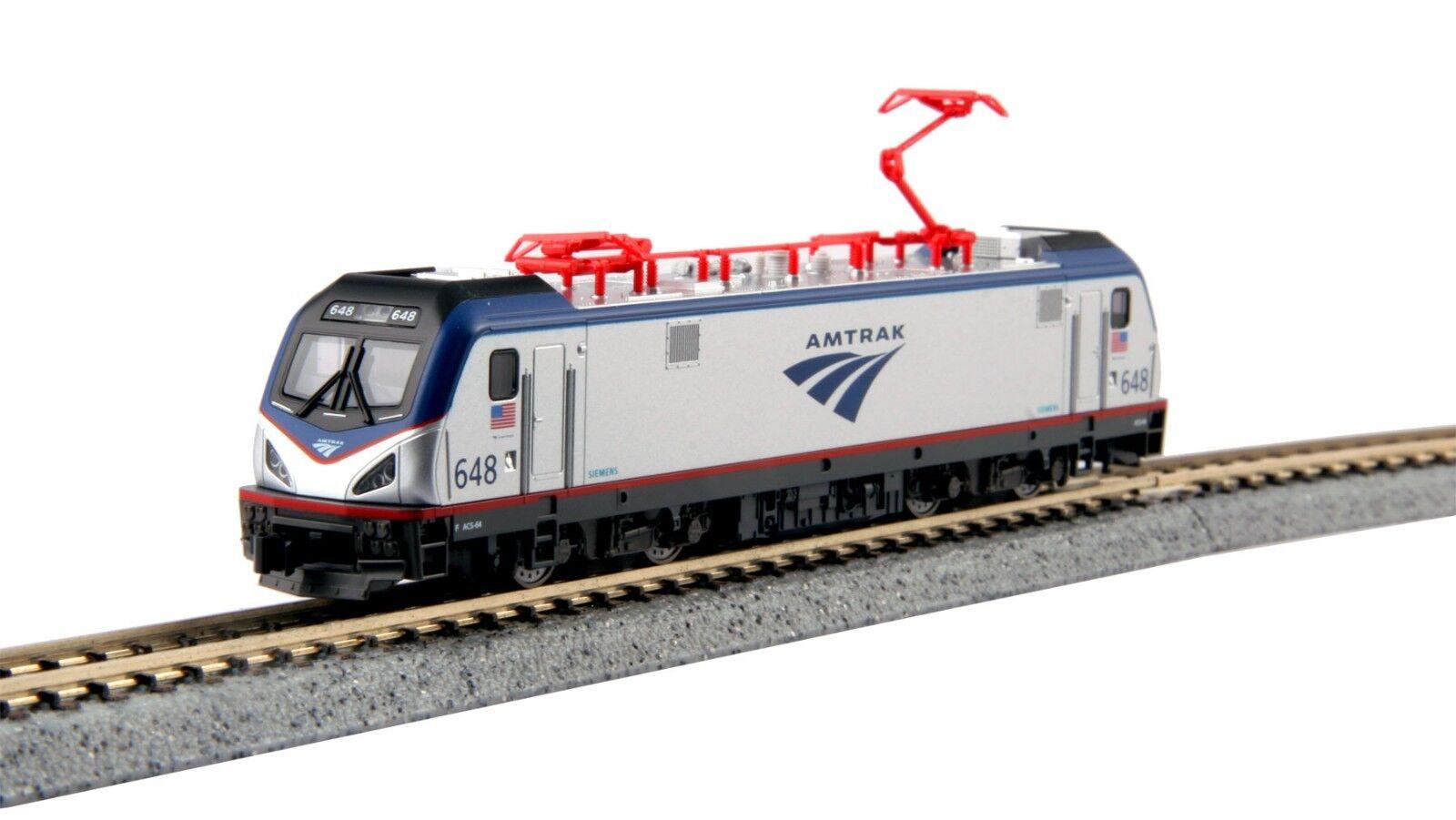 N Scale - KATO 137-3003 AMTRAK ACS-64 Locomotive   648 DCC Ready