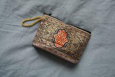 The Hand of Fatima Hamsa Patterned Make-up Bag Clutch Free Worldwide Shipping!