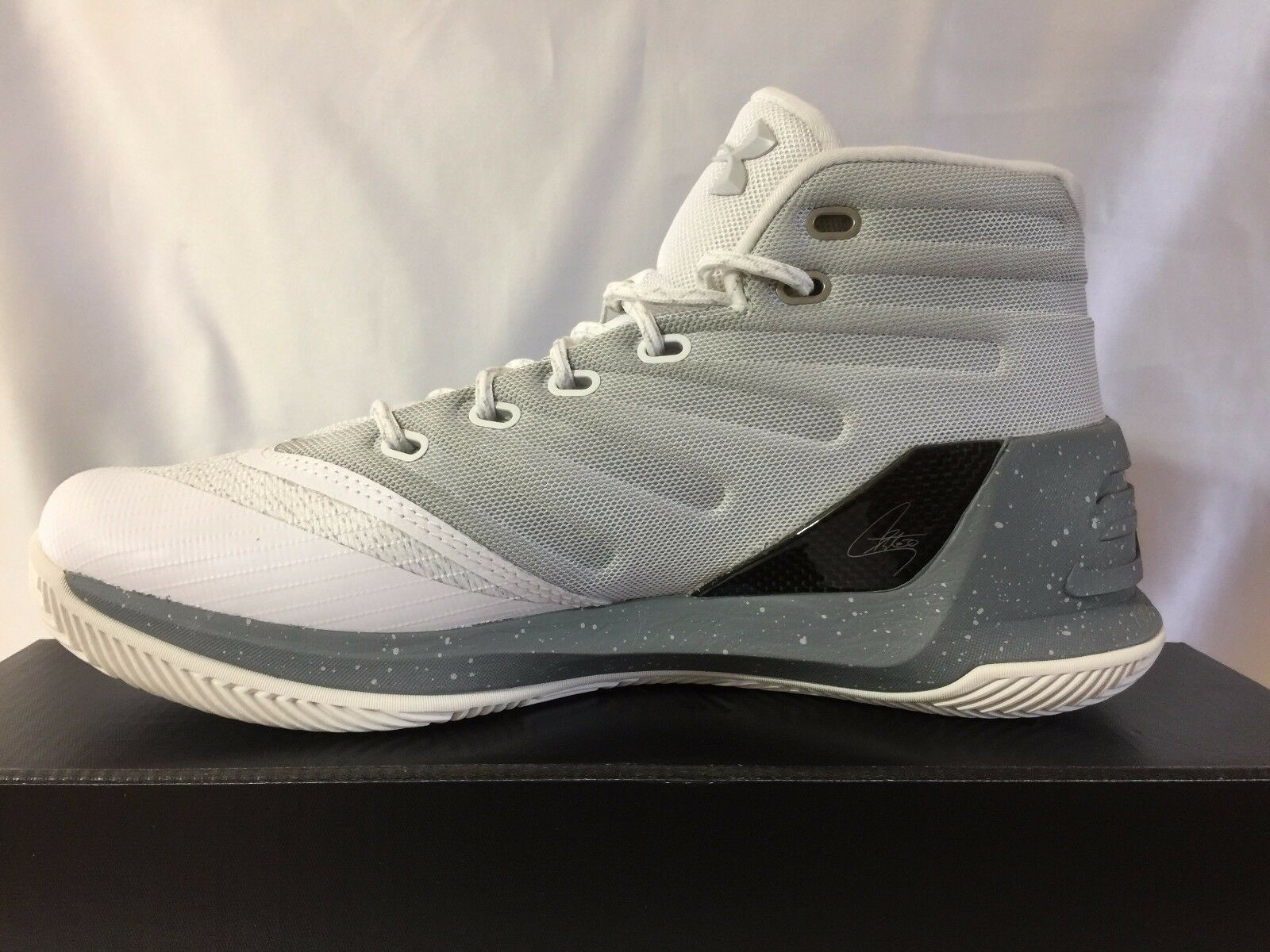 New With Box Box With Under Armour UA Curry 3 Uomo's Basketball Shoes-1269279-101 a3f6f3