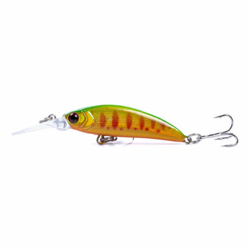 6pcs//Lot 7cm//6g Fishing Lures Jerkbait Crankbaits Minnow Hooks Bait Bass Tackle