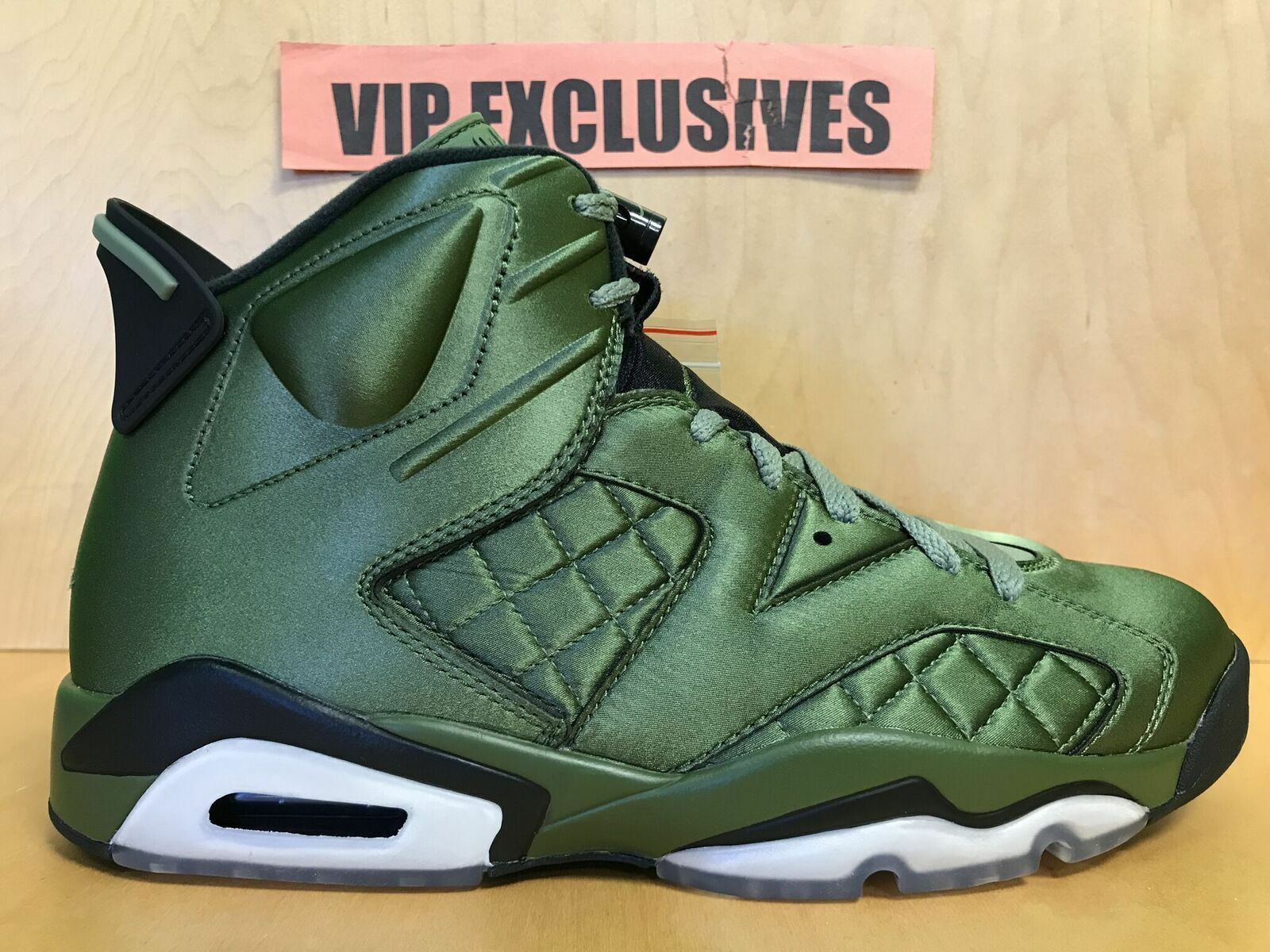 Nike Air Jordan VI Retro 6 Pinnacle Pinnacle Pinnacle Olive Promo Jacket AH4614-303 Size 8.5 37a584