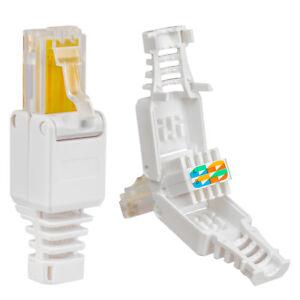 8-x-Netzwerk-LAN-RJ45-Ethernet-stecker-Crimpstecker-Cat-6-7-5-5e-Kabel-Connector