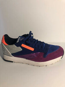 Shoes Blue Purple Orange Grey Size 9.5