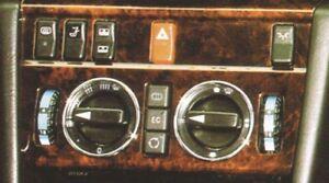 ANNEAUX-CHROMES-POUR-CHAUFFAGE-VENTILATION-2-pieces-W208-CLK-coupe-cabriolet
