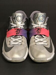 the latest 4e658 34d39 Details about Nike KD 7 VII All Star Basketball Shoes Mens Size 12 Kevin  Durant 742548-090
