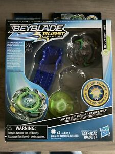 Beyblade-Burst-Evolution-Rip-Fire-Pack-Wyvron-W2-Aka-Wild-Wyvern-Light-Up-Driver