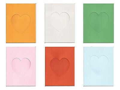 "6/"" x 4/"" Oval Window//Aperture Card Blanks Perfect for your DIY Greetings Cards"