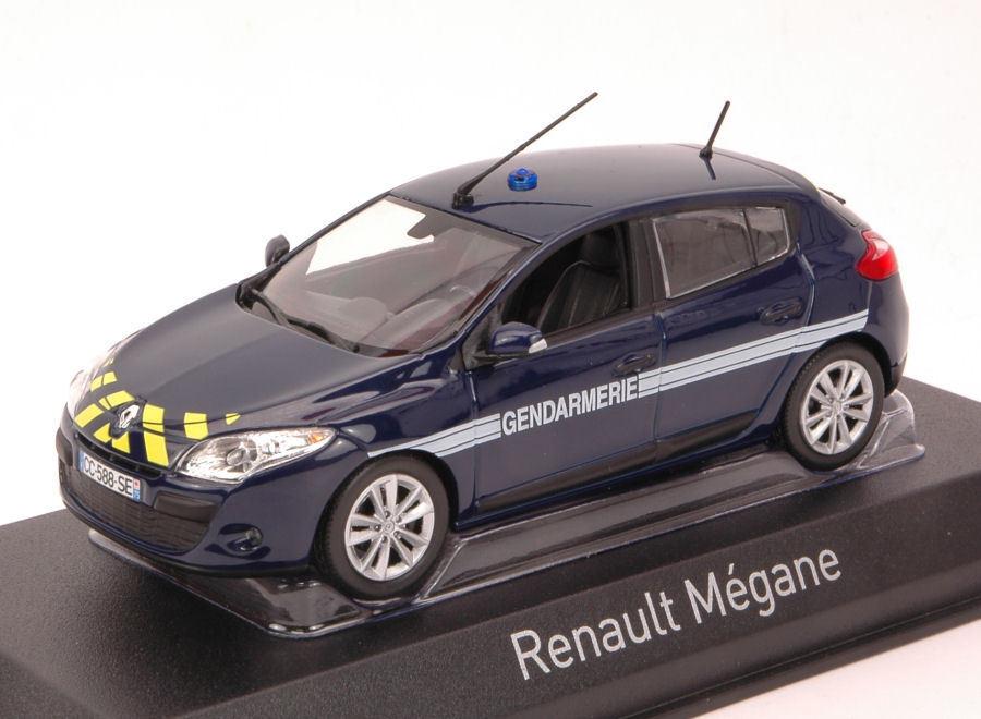 Renault Megane 2012 Gendarmerie 1 43 Model 517718 NOREV
