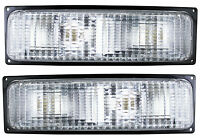 Chevy Silverado Truck 88-89 Park Signal Lights Lamps Pair Set Left & Right