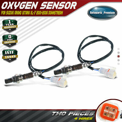 Set of 2 O2 Oxygen Sensor for Suzuki XL-7 2002-2006 Grand Vitara 2.7L Downstream