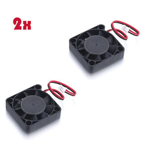 12V Black Mini Computer Fans Cooling Cooler DC Brushless Fan With PC 2-pin