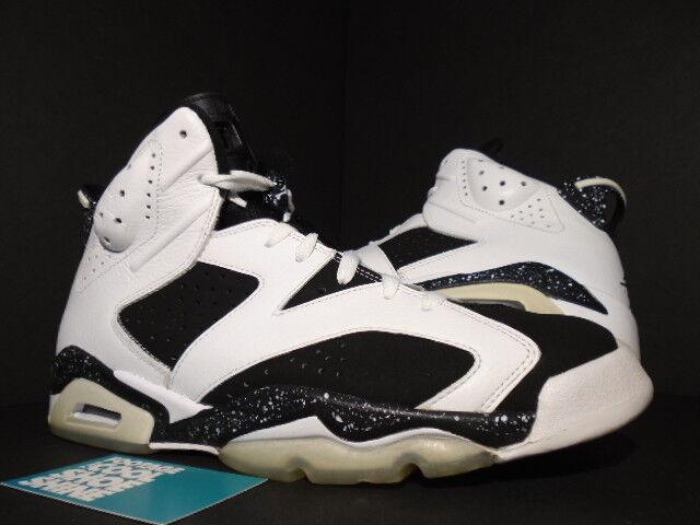 f68078044c2 2010 Nike Air Jordan VI 6 Retro Black White Oreo Cool Grey 384664-101 11  for sale online | eBay