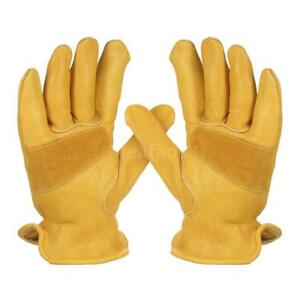High-Quality-Durable-Cowhide-Leather-Work-Gloves-Non-slip-Wear-resistant-K6W9