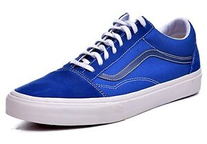 8589ce5b6604 new mens 10 vans old skool (vintage) sk8 true blue black iris vn ...