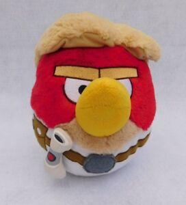Angry-Birds-Star-Wars-Luke-Skywalker-Red-Bird-9-034-Plush-Doll-Toy-Commonwealth