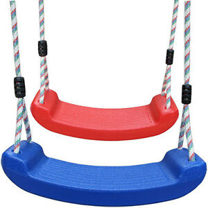 Kids-Adult-Plastic-Swing-Seat-Playground-Swing-Set-With-Climbing-Rope-Play-Set