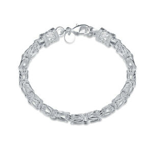 Byzantine-Bracelet-in-18K-White-Gold-Plated
