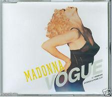 "MADONNA - VOGUE (12"" VERSION) / (STRIKE-A-POSE DUB) 1990 GERMAN CD SINGLE WE 739"