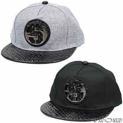 Da Uomo Donna Cappellino Simbolo Del Dollaro Nero Regolabile Hip Hop Baseball Picco Cappello-