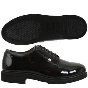Calfskin Uniform Dress Shoes