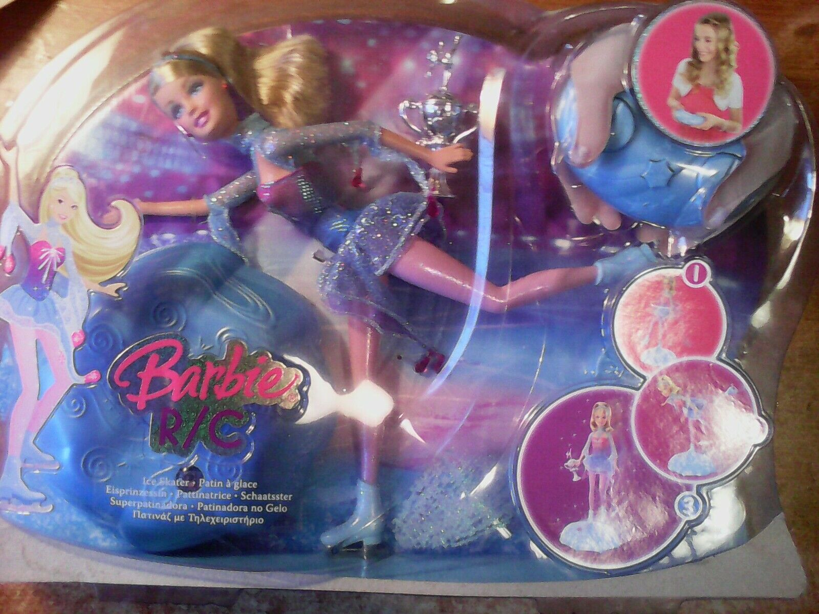 INTROVABILE GReE  SCATOLA ' MATTEL ' DEL 2008 CON   ' BARBIE PATTINATRICE '      alto sconto