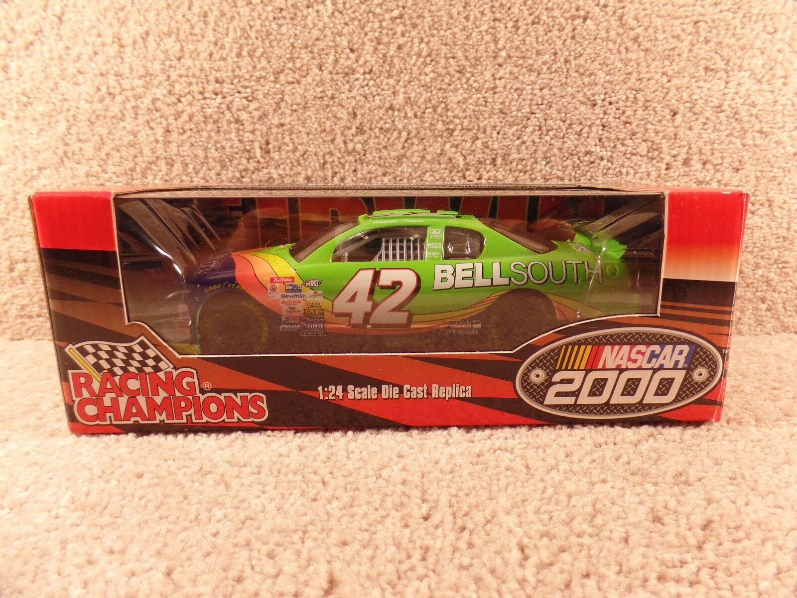 New 2000 Racing Champions 1 24 NASCAR Kenny Irwin Bell South Monte Carlo