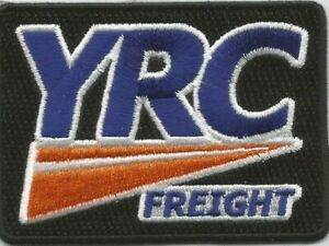 Details about YRC Freight (Yellow Roadway Corporation) driver patch 2-1/2 X  3-1/2 box 3213