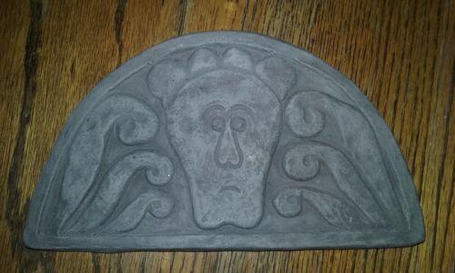 Unique Handmade Art Nouveau Deco Gothic Plaster Wall Plaques Graveyard Tombstone