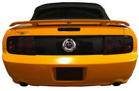 Mustang Smoked Tinted Tail Light Covers Vinyl 05 09