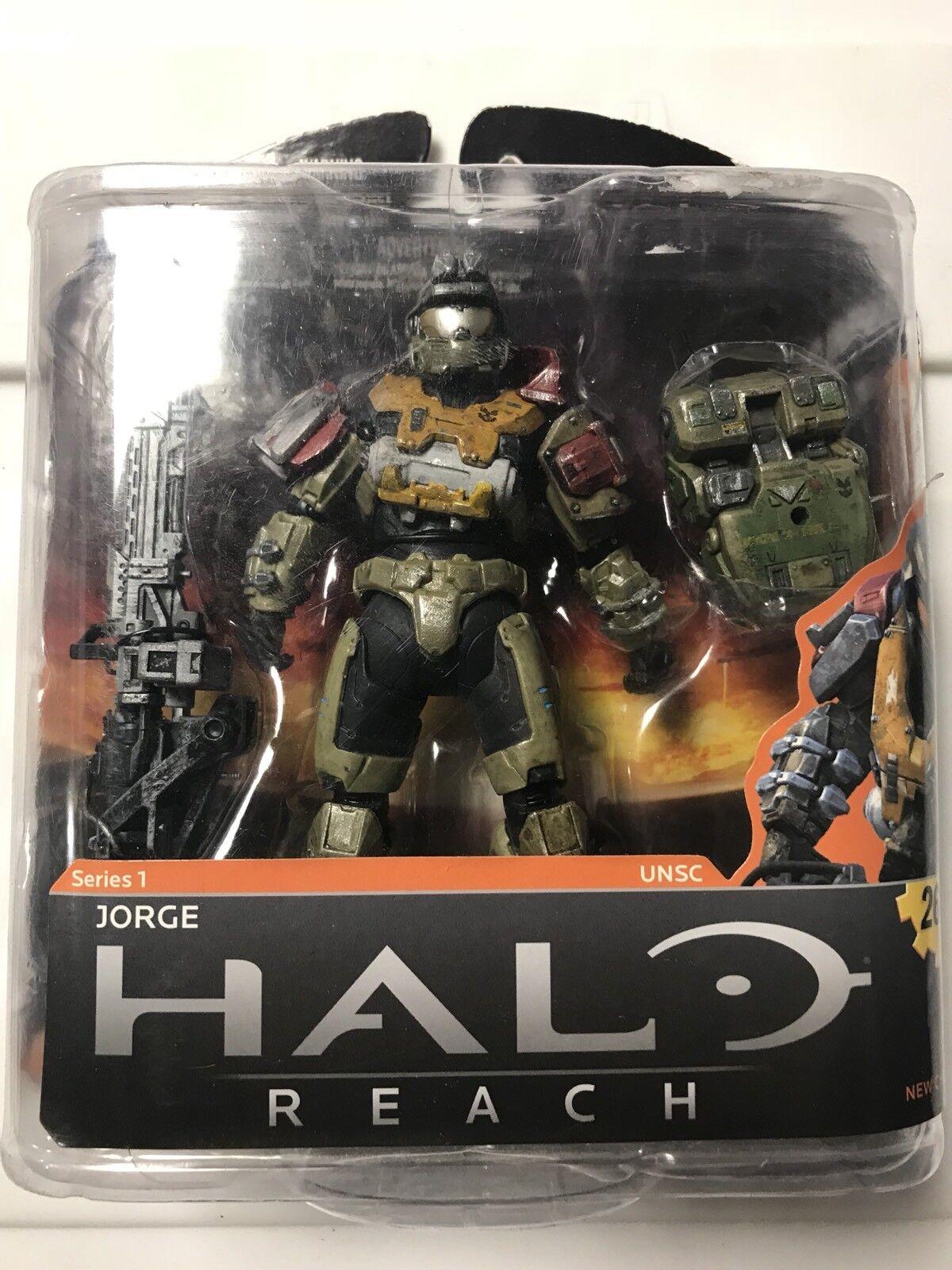 Halo Reach Jorge Action Figure Series 1 Moc