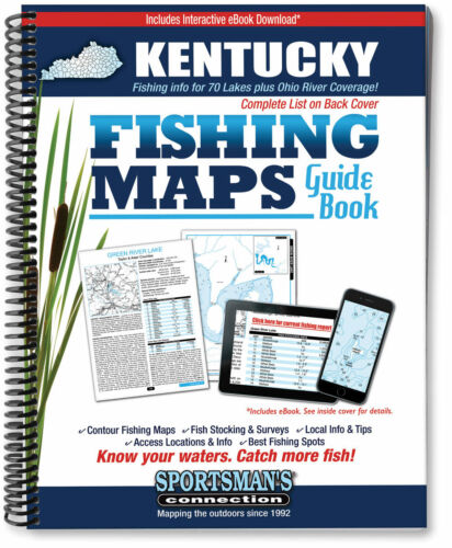 Kentucky Fishing Map GuideSportsman/'s Connection