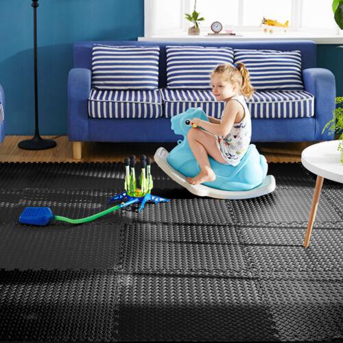 12 Stk.Bodenmatte Schutzmatten Puzzlematte Bodenschutzmatte Spielmatte 60x60 EVA