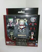 Mezco Mez-itz Suicide Squad 5-pack Vinyl Figures The Joker Harley Quinn Deadshot