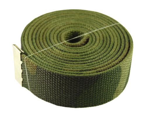 """60/"""" Capital Initial /""""V/"""" Canvas Military Web Belt /& Buckle 25 Color"""
