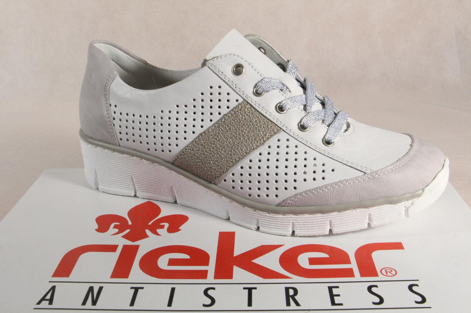 Rieker 53717 Scarpe con Lacci da Donna, Scarpe Basse, scarpe da ginnastica Nuovo | Abbiamo ricevuto lodi dai nostri clienti.  | Sig/Sig Ra Scarpa