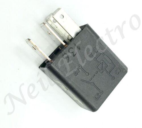 4-Pin Multi-Use Black Relay 46520421 12V 20A A727 702.30 00-16 Alfa Romeo