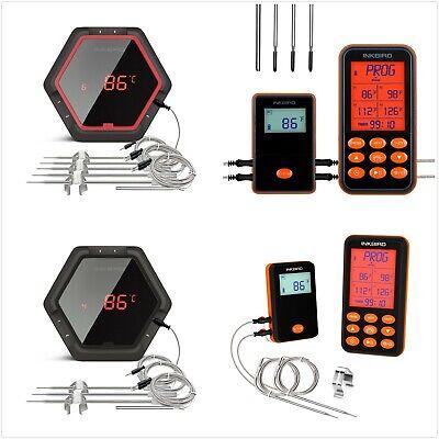 IBT-6X Digitales Kochen Küchenhelfer Thermometer bluetooth Grille 2//4//6 probes