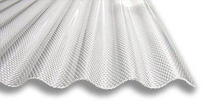 Acryl Lichtplatten, Sinus Waben-Struktur, 3,0mm glasklar