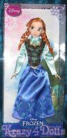 Disney Classic Anna Frozen Doll In Box