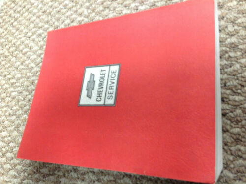 1986 Chevrolet Chevy CORVETTE Service Shop Repair Manual BRAND NEW ...