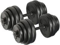 Dumbbell Set Kit Weights Training Gym Workout Fitness Dumbells 15 KG 20Kg 30Kg