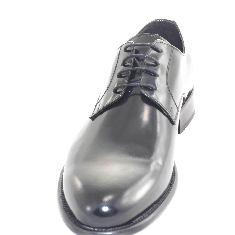 chaussures   da   chaussures stringata cerimonia da ballo fondo vero cuoio made in italy ovali b0f619